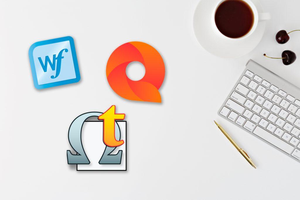 Logos de diferentes alternativas a Trados