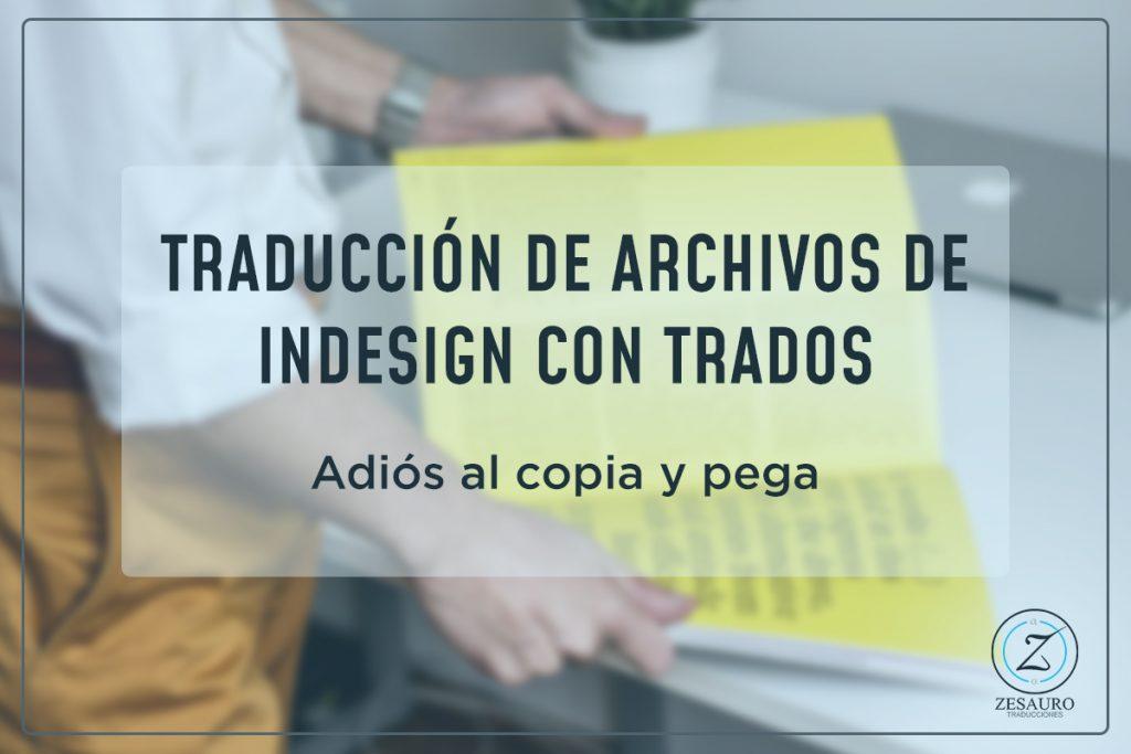 Traducción de archivos de InDesign