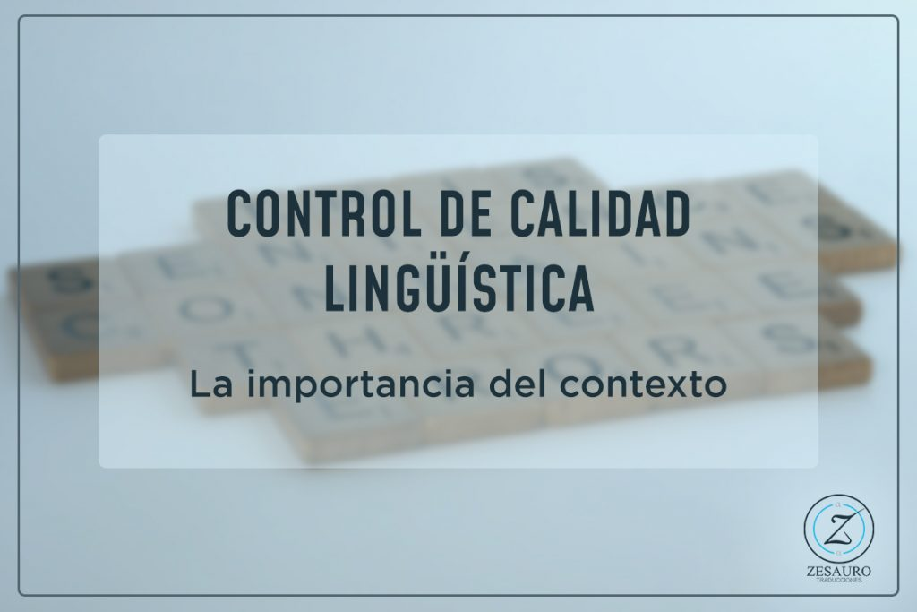 Control de calidad lingüística