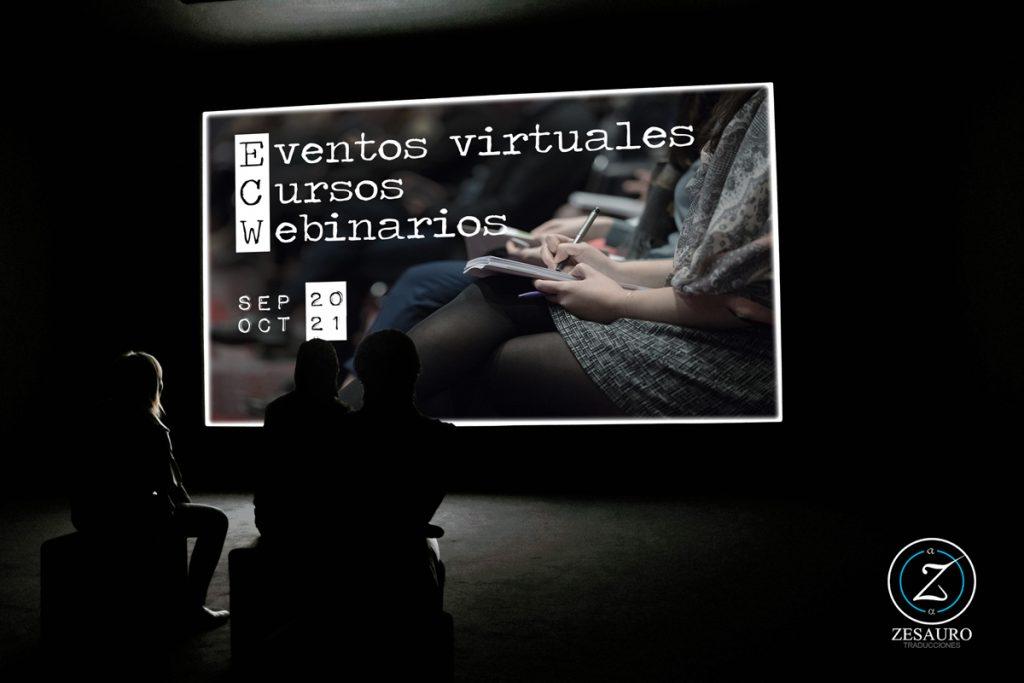 Eventos virtuales de septiembre y octubre de 2021