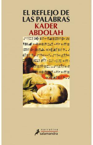 Portada del libro «El reflejo de las palabras», de Kader Abdolah
